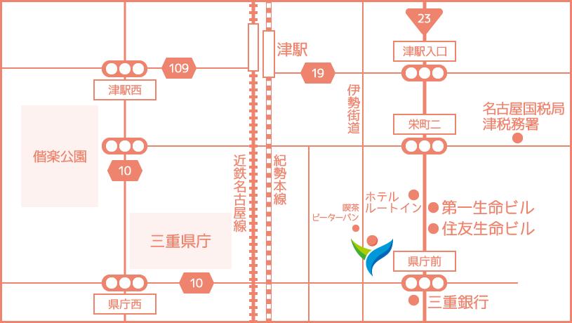 YUKIビジネスサポートへのアクセス